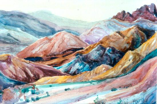 Artist's Palette – Death Valley
