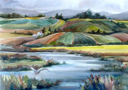 Fields Near Moss Landing