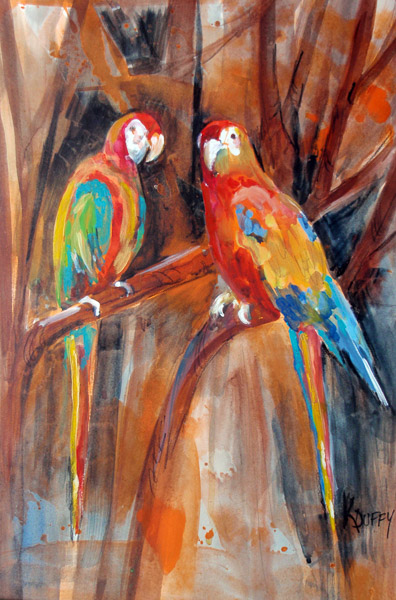 Happy Hollow Parrots