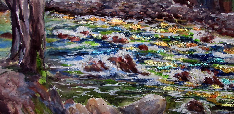 Sparkling Yosemite Water