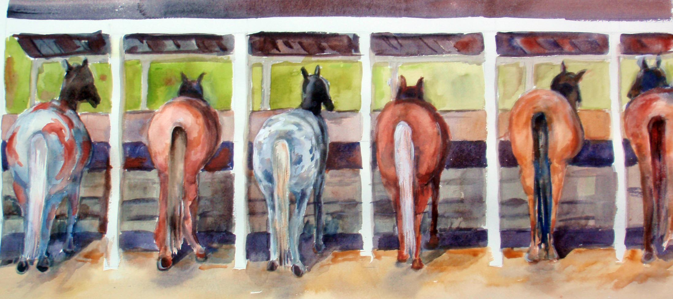 Horses from the Other End